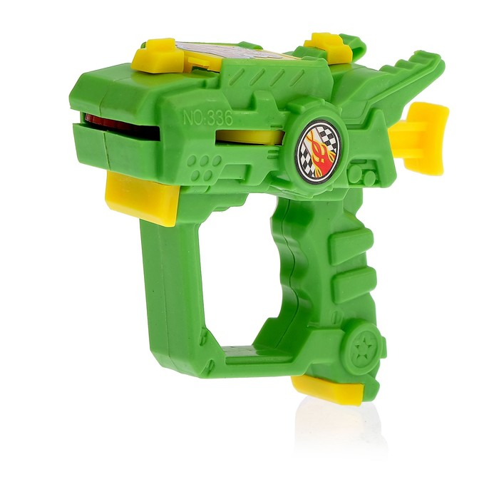 Пистолет «Дискомет», стреляет дисками, цвета МИКС