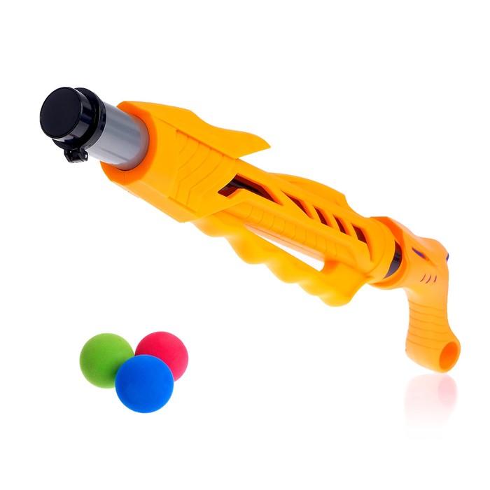 Ружьё «Дракон», стреляет мягкими шариками, цвета МИКС