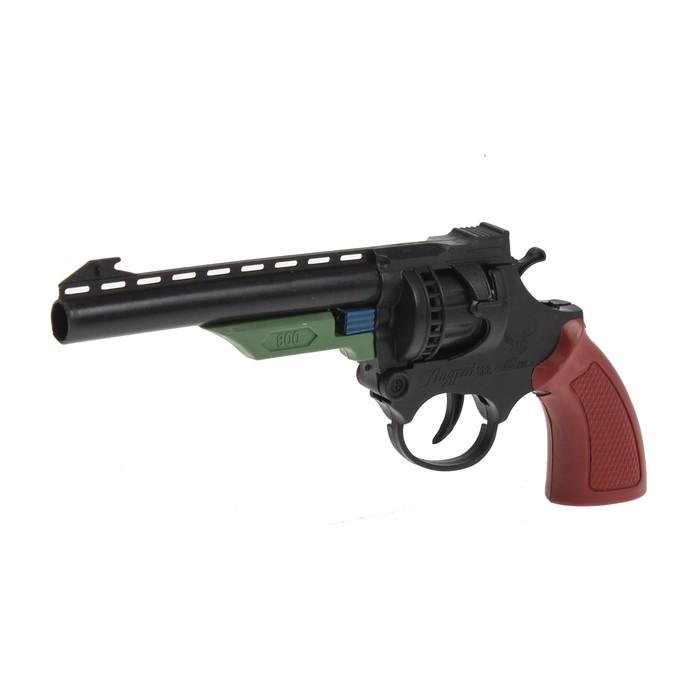 Пистолет «Револьвер», стреляет 8-ми зарядными пистонами