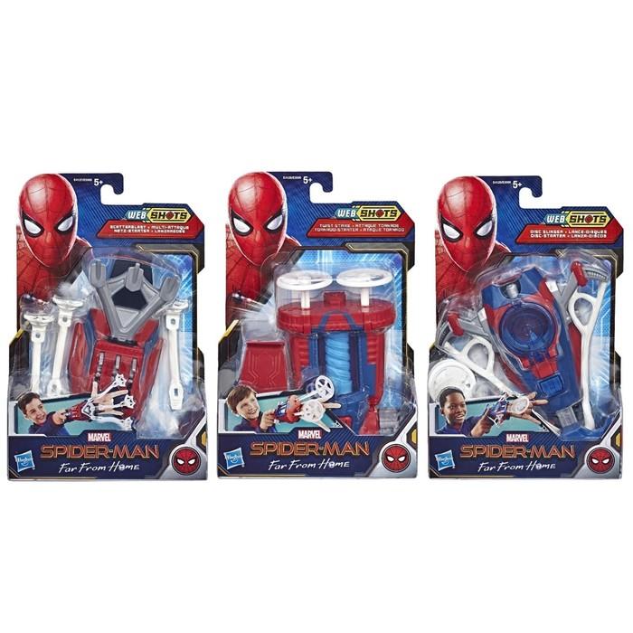 Бластер паутинный «Человек-паук», цвета МИКС