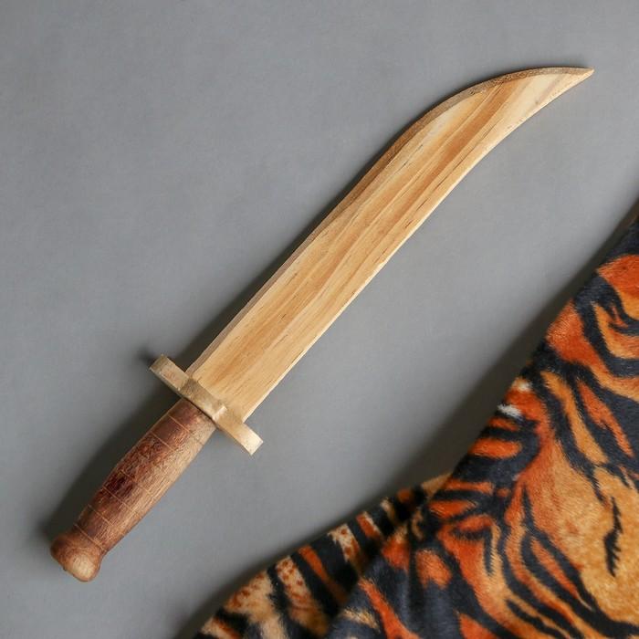 """Игрушка деревянная """"Кинжал"""" 3,3х6х31 см"""