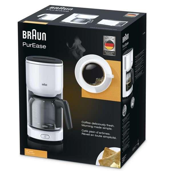 Кофеварка Braun KF3100WH