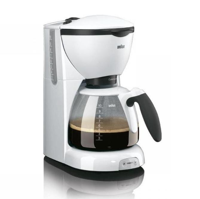 Капельная кофеварка Braun KF520/1 WH