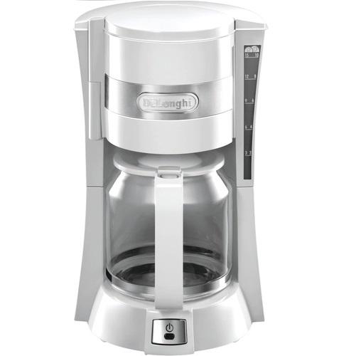 Капельная кофеварка Delonghi ICM15210.1W White