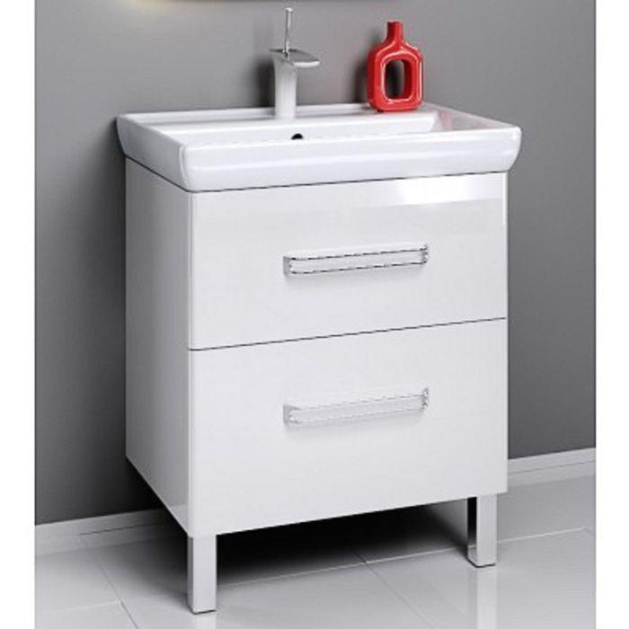 Комплект мебели Aqwella NEO 70 на ножках, тумба с раковиной Дрея Q 70, Neo.01.07