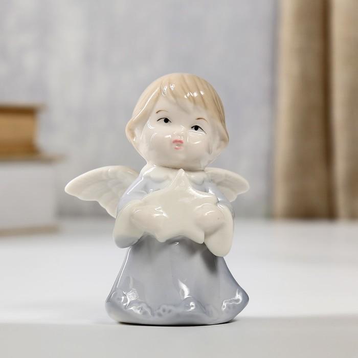 "Сувенир ""Ангелочек со звёздочкой"" 8х6х3,5 см"