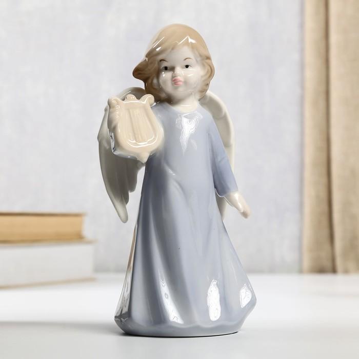 "Сувенир ""Ангел с арфой"" 17,5х9х7,5 см"