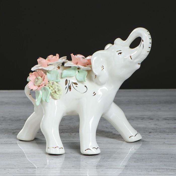 """Фигурка-статуэтка """"Слон"""" гламур"""