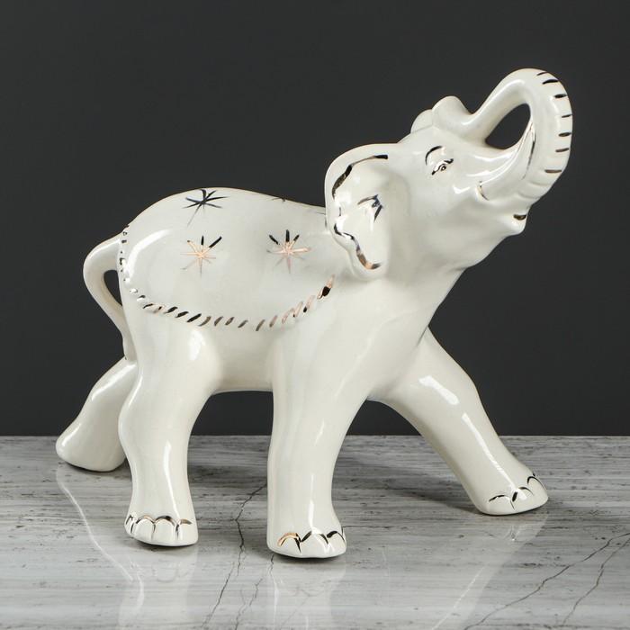 """Сувенир-статуэтка """"Слон"""" гламур, 19 см"""