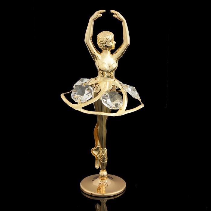 Сувенир «Балерина», 5×5,5×11 см, с кристаллами Сваровски