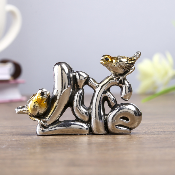 """Сувенир - миниатюра """"Два воробушка Life"""""""