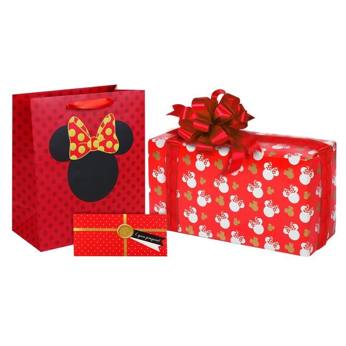 """Открытка-конверт для денег """"С Днем рождения!"""", Микки Маус"""
