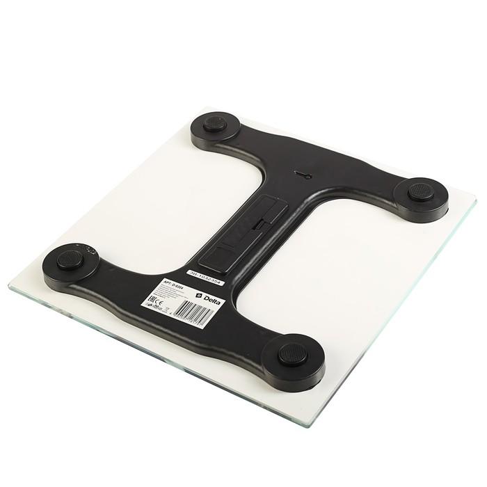 """Весы напольные DELTA D-9304, электронные, до 180 кг, картинка """"Тренировка"""""""