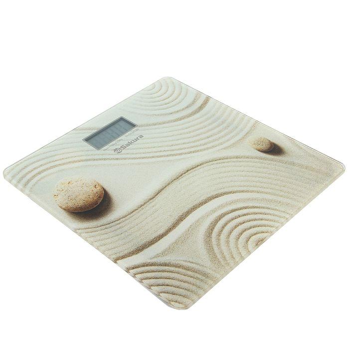 Весы напольные Sakura SA-5072C, электронные, до 150 кг, песок