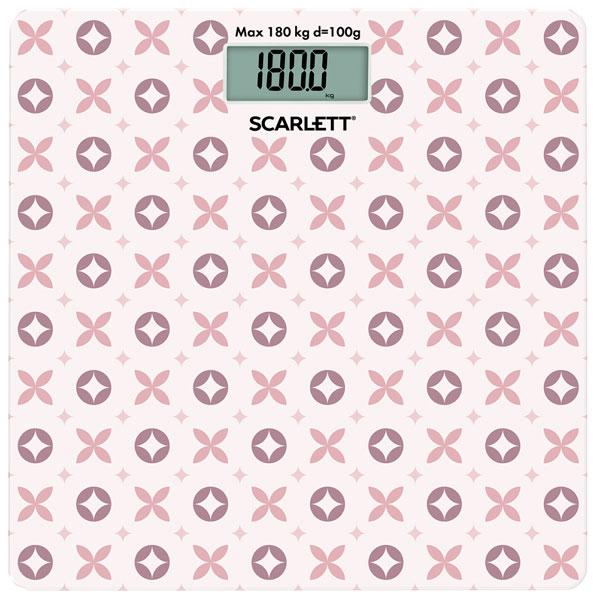 Напольные весы электронные Scarlett SC-BS33E007