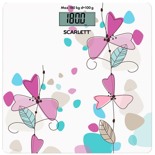 Напольные весы электронные Scarlett SC-BS33E045