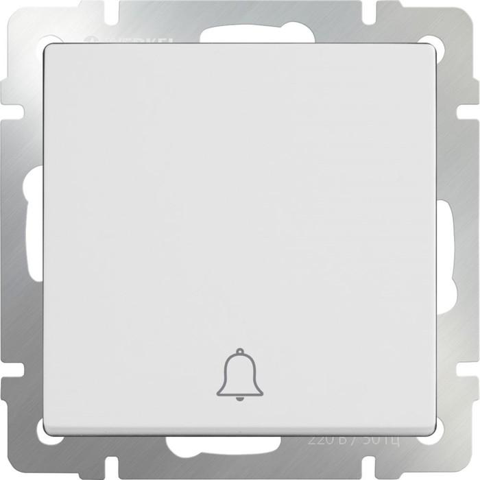 Кнопка звонка  WL01-04-01, цвет белый