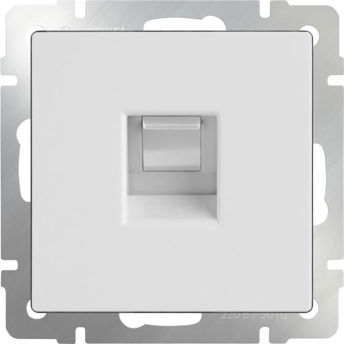Телефонная розетка RJ-11  WL01-RJ-11, цвет белый