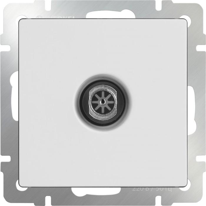 ТВ-розетка оконечная  WL01-TV, цвет белый