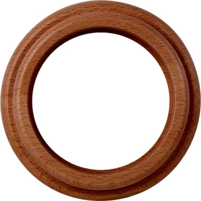 Рамка на 1 пост  WL15-frame-01, цвет итальянский орех