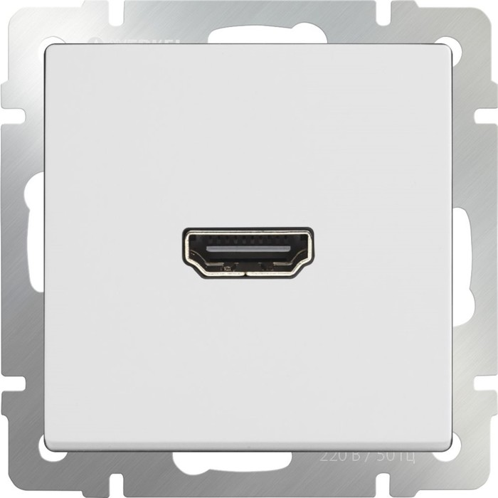 Розетка HDMI  WL01-60-11, цвет белый