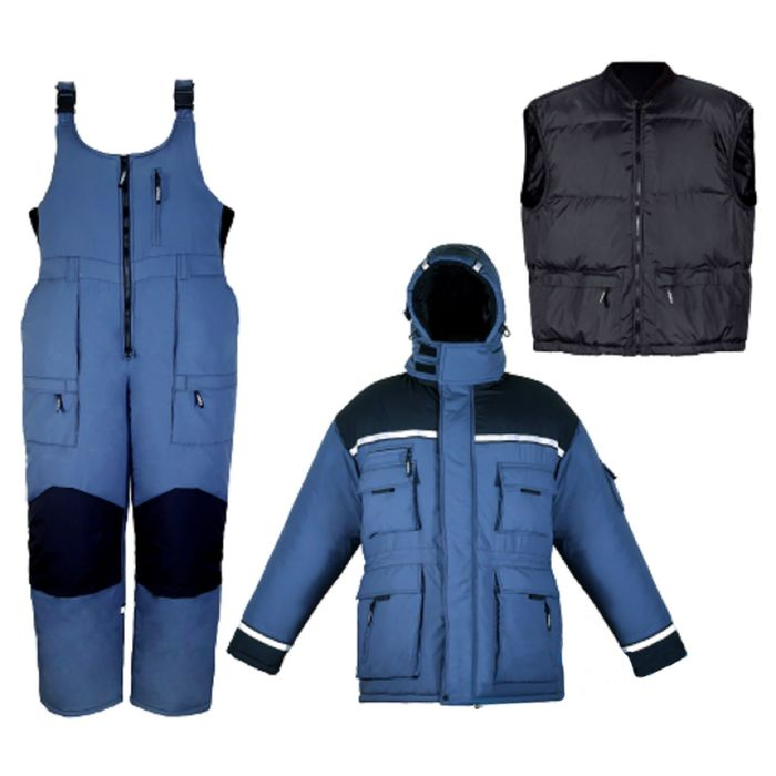Костюм зимний «Эверест», размер 56-58, цвет синий
