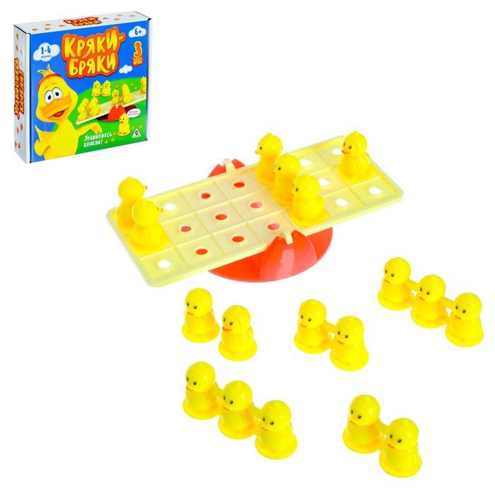 Настольная игра на логику «Кряки-бряки»