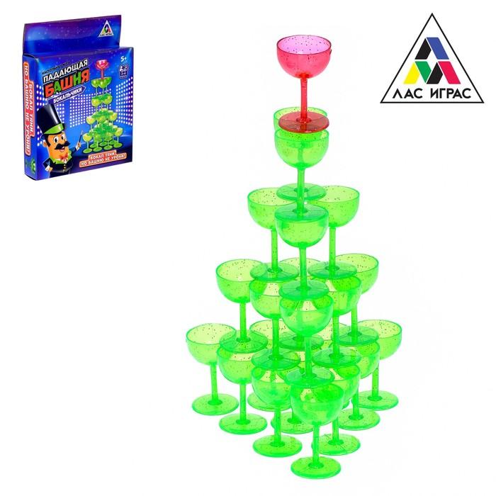 Настольная игра на равновесие «Падающая башня»