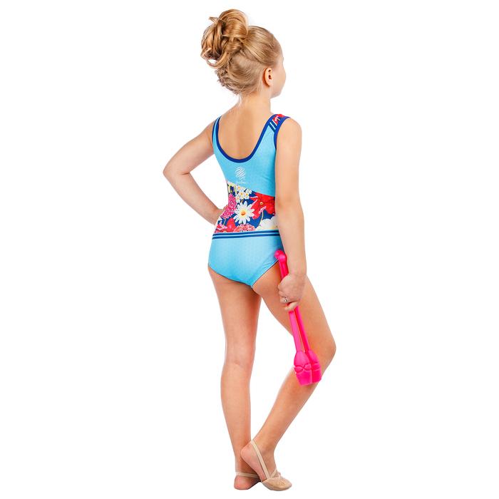 Купальник для спортивной гимнастики Flower, размер 40
