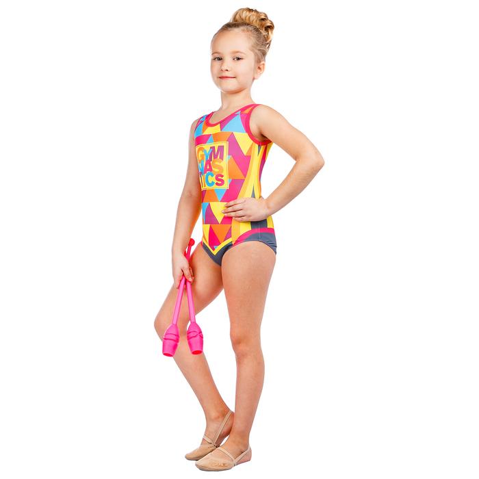 Купальник для спортивной гимнастики Gymnastics, размер 28