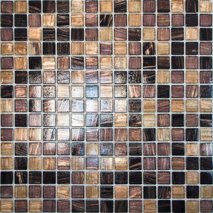 Mозаика стеклянная Elada Mosaic HK-19, фиолетовая, 327х327х4 мм