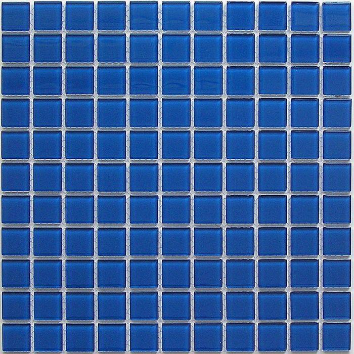 Мозаика стеклянная Bonaparte, Deep blue 300х300х4 мм
