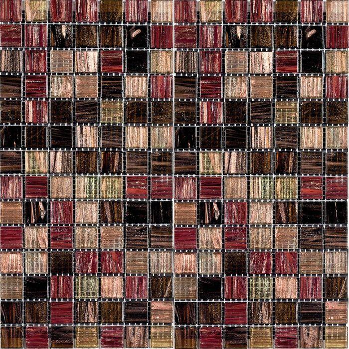 Мозаика стеклянная Bonaparte, Savanna 327х327х4 мм