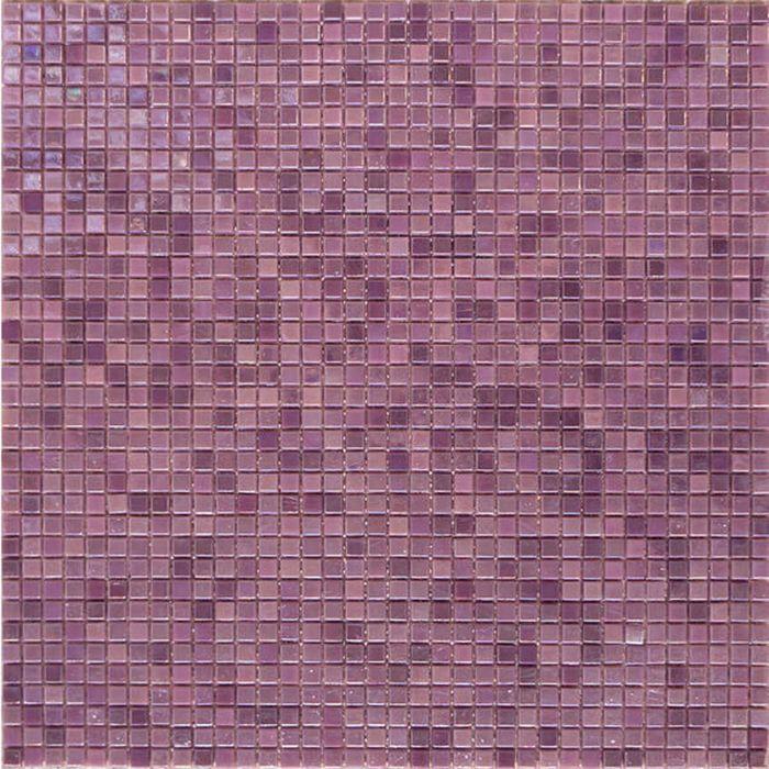 Mозаика стеклянная Elada Mosaic HK-47, сиреневая, 316х316х4 мм