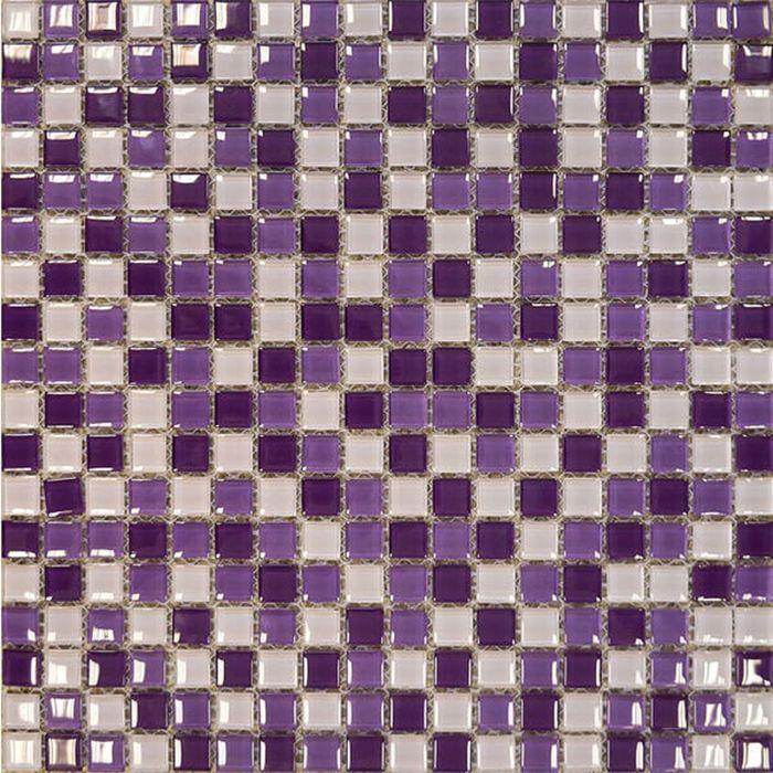 Мозаика керамическая Elada Mosaic SH-415004, лиловая, 305х305х4 мм