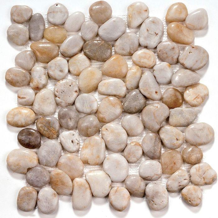 Мозаика из натурального камня Bonaparte, White jack 305х305х9 мм