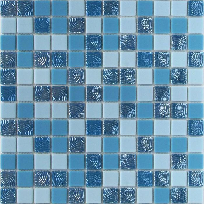 Мозаика стеклянная Bonaparte, Atlantic 300х300х4 мм