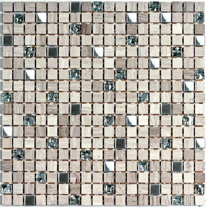 Мозаика из натурального камня Bonaparte, Tokyo 305х305х7 мм