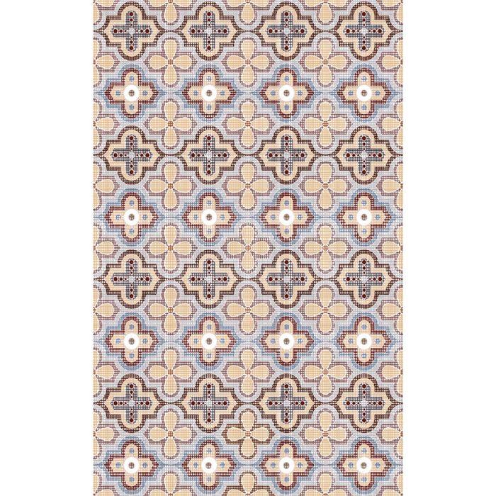 Облицовочная плитка Тренд темно-бежевый 09-01-11-125 40х25см (в упаковке 1,6 кв.м)