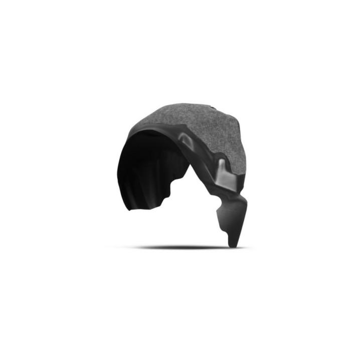 Подкрылок с шумоизоляцией FORD Fiesta, 2015-2016, хб. (задний левый)