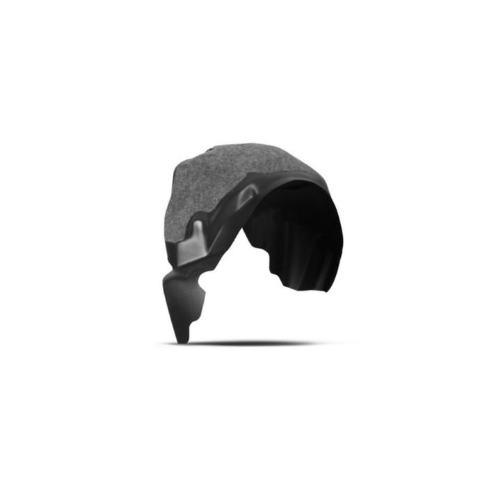 Подкрылок с шумоизоляцией FORD Fiesta, 2015-2016, хб. (задний правый)