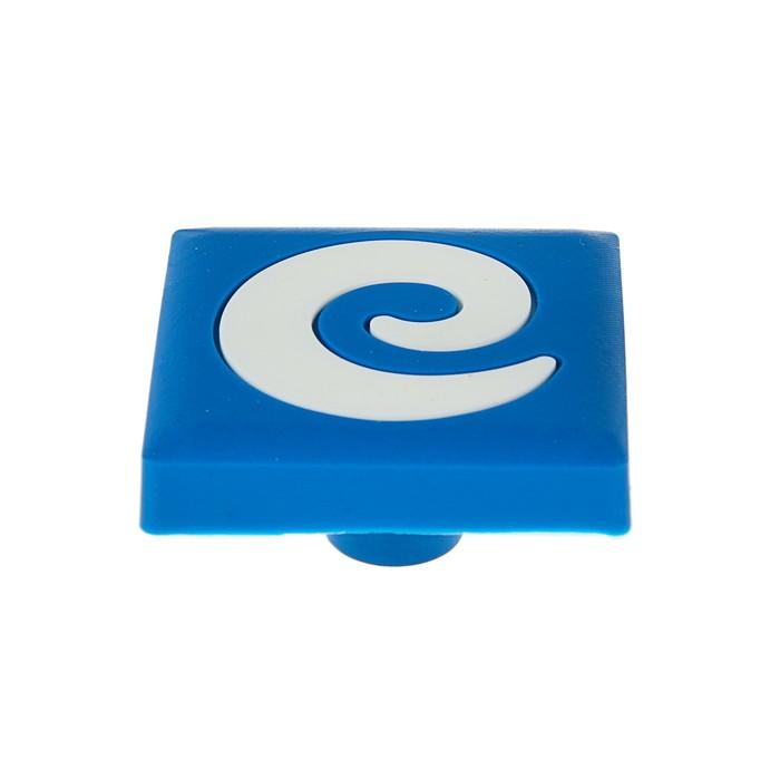 """Ручка кнопка детская KID 027, """"Буква Е"""", резиновая"""