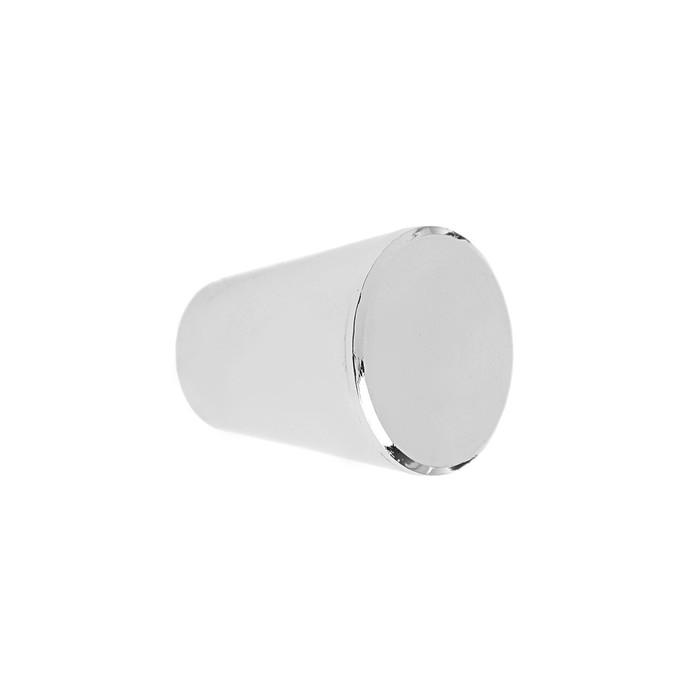 Ручка кнопка РК019CP, цвет хром