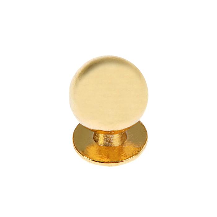 Ручка кнопка РК008, цвет золото