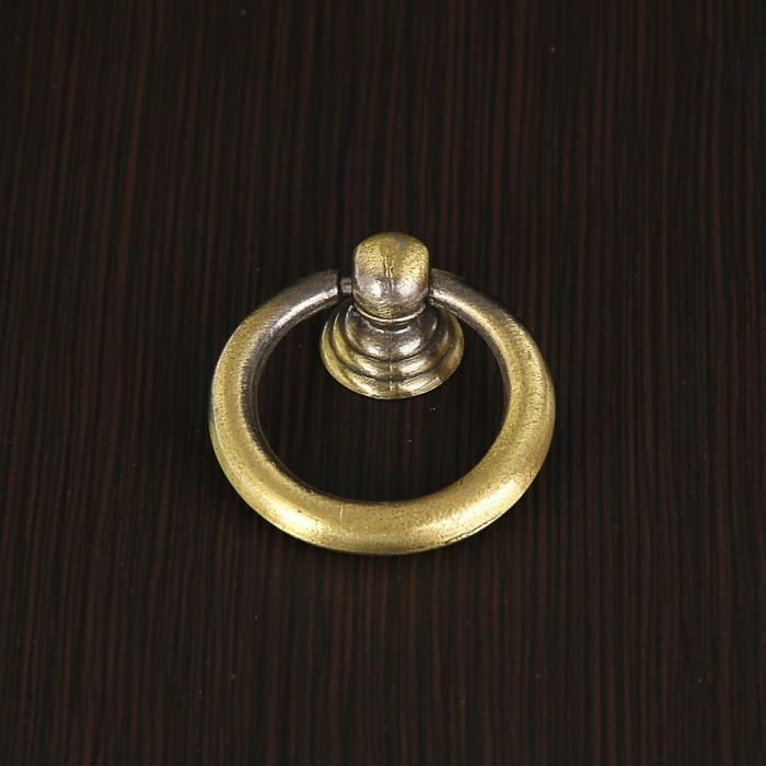 Ручка кнопка РК016AB, цвет бронза