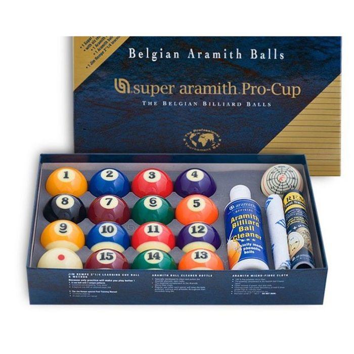 Шары Pool Super Aramith Pro-Cup Value Pack ø57,2мм
