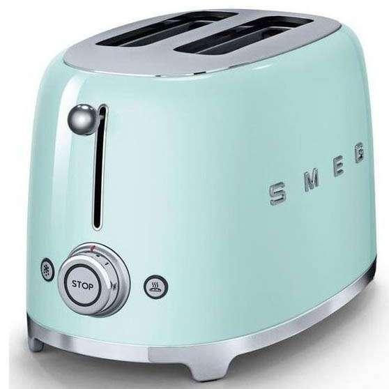 Тостер Smeg TSF01PGEU (Зеленый)