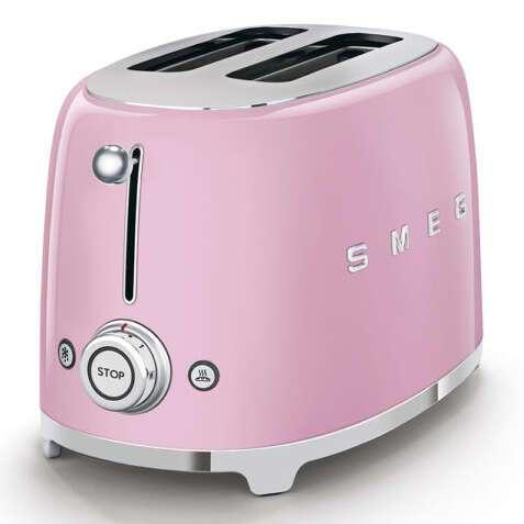 Тостер Smeg TSF01PKEU (Розовый)