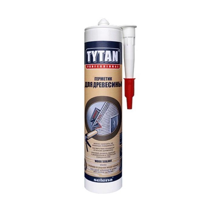 Герметик Tytan Professional (17195), акриловый, для дерева и паркета, бук, 310мл
