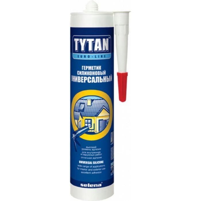 Герметик Tytan Euro-Line Силиконовый Универсальный белый 290мл